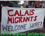 Bannerwerbunb: Calais Migrant Solidarity