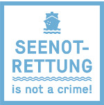 Bannerwerbunb: Seenotrettung is not a crime