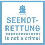 Bannerwerbunb: Seenotrettung is not a crime