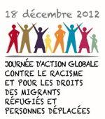 Bannerwerbunb: Globaler Aktionstag 2012 gegen Rassismus und für die Rechte von Migrant_innen, Flüchtlingen und Vertriebenen Menschen