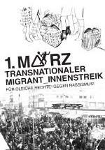 Bannerwerbunb: Broschüre zum 1. März - transnationaler Migrant_innenstreik 2012