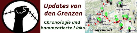 Updates von den Grenzen - Chronologie und kommentierte Links