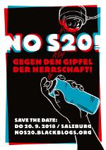 Bannerwerbunb: NO S20. Gegen den Gipfel der Herrschaft - 20. Septeber 2018 in Salzburg