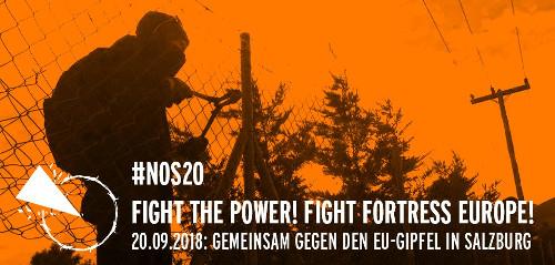 NO S20 - Gegen den Gipfel der Herrschaft am 20. Sep 2018 in Salzburg