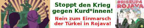 Stoppt den Krieg gegen Kurd*innen!