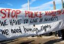 Stop police assaulting us, we have to live in security, we need human rights