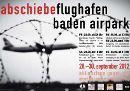 Abschiebeflughafen Baden-Airpark - Aktionstage vom 28. - 30. September 2012
