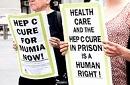 April 2016: Protest vor Gouverneursbüro für medizinische Versorgung für Mumia und alle erkrankten Gefangenen