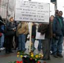 Trauern um Laya-Alama Conde, Bremen, 6. Jänner 2007