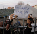 We want a legal life!
