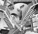 Escher, Relativity