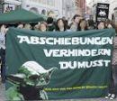 Demonstration gegen Abschiebungen am 11. März 2011 in Steyr.