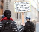 Solidarität mit den Sans Papiers in Paris