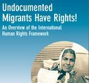 Titelblatt der Broschüre Undocumented Migrants have Rights