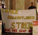 1. März Migrant_innenstreik - Ohne uns geht nix (Foto: ATIGF, Plattform Bleiberecht)