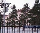 Trügerische Idylle: das Flüchtlingslager Traiskirchen im Winter 2010.