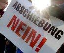 Demo gegen Abschiebung, März 2007 in Lilienfeld