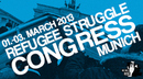 Refugee struggle Congress Munich