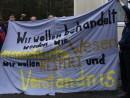 Protest im Lager Katzhütte, März 2008