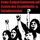Keine Budgetsanierung auf Kosten des Gesundheits- und Sozialbereichs