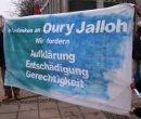 Mahnwache in Gedenken an Oury Jalloh, Dessau, 07. Jan 2006