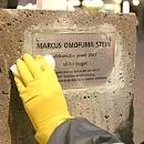 Marcus Omofuma Stein - oft rassistischen Angriffen ausgesetzt