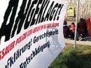 Mahnwache vor dem Landgericht in Dessau, 29. Mar 2007