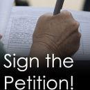 Unterzeichnet die Petition!