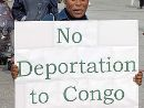 No deportations to Congo - Demonstration in Nottingham, 28th of March 2007.