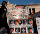 Im Zentrum Athens befinden sich 9 Flüchtlinge aus Afghanistan im Hungerstreik (Foto: Dieter Krauses)
