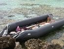 Dieses Boot landete am 15. März 2009 auf Lampedusa