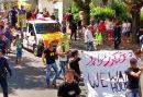 We Want Houses! - Forderung von Geflüchteten bei der Demo in Traiskirchen