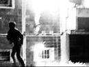 Pogrom in Rostock Lichtenhagen, August 1992