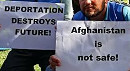 Deportation destroys future! Afghanistan is not safe!