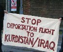 Protest at Brize Norton Royal Air Force, 12. Feb 2007