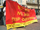 demonstration stopp deportations to congo, nottingham, 12. apr 2007