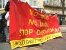 demonstration stopp deportations to congo, nottingham, 12. apr 2007