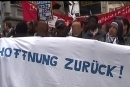 Demonstration in Zürich am 03. Jan 2009