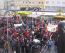 1. März-Kundgebung am Viktor-Adler-Markt in Wien
