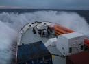 Die Aquarius im Einsatz im Mittelmeer. FOTO: SOS MEDITERRANEE.