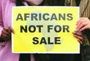 Africans not for sale