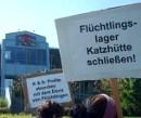 Protest bei der Betreiber_innenfirma K & S, Sottrum, 08. Mai 2009
