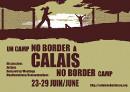 Calais 2009 noborder camp