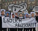 Endlich abgeschafft - Aktionstag gegen Dublin 2 Abschiebungen nach Griechenland in Hamburg am 28. Mai 2010