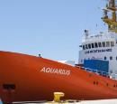 Valencia, Spanien, am 20. Juni 2018: Die Aquarius verlässt den Hafen von Valencia. Foto: Roland Schilring