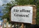 Protest vor dem Abschiebe-Lager in Bramsche-Hespe