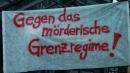 Protest gegen die Festung Europa