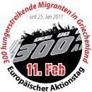 300 hungerstreikende Migrant_innen in Griechenland - europaweiter Aktionstag am 11. Februar 2011