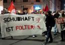 Bild von der Demo 'Freiheit für Yazid'
