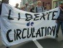 liberte de circulation - noborders demo in calais, 27. june 2009